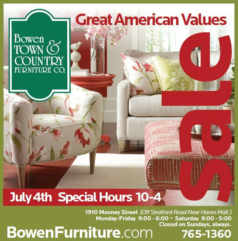American Made Furniture Bowen Town Country Furniture